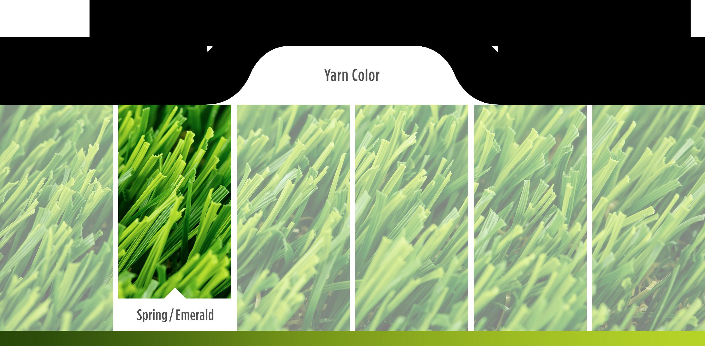 spring emerald yarn color
